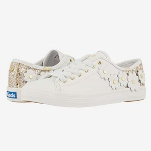 Keds X Kate Spade Glitter Appliques Sneakers
